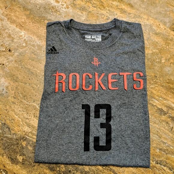 6ae39181c adidas Other - Houston Rockets James Harden T-Shirt